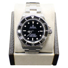 Rolex Submariner 14060 Black Stainless Steel Box and Booklets 2008 Rehaut