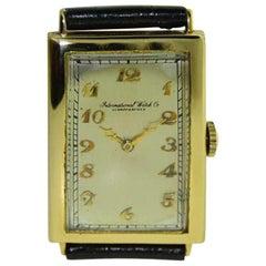 Art Deco Watch by I.W.C