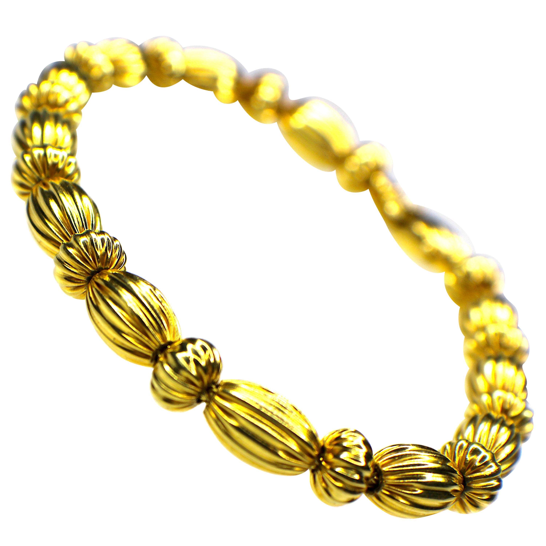 """GEMOLITHOS """"Seeds"""" Bracelet in 18 Karat Gold"""