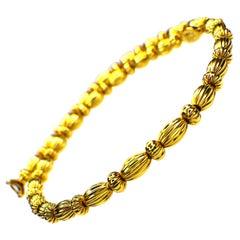 """GEMOLITHOS """"Seeds"""" Necklace 18 Karat Gold"""