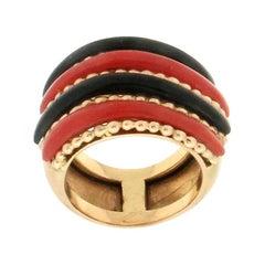 Onyx Band Rings