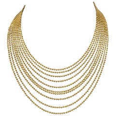 "Cartier ""Draperie"" Necklace in 18 Karat"
