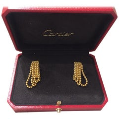 "Cartier ""Draperie"" Earrings 18 Karat"