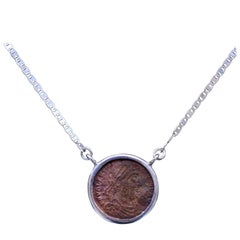 Valens Coin Silver Necklace