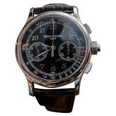 Patek Philippe 5370P Platinum Split Second Chronograph Watch