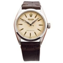 Rolex Oyster Reference 6480 Stainless Steel Watch, 1955