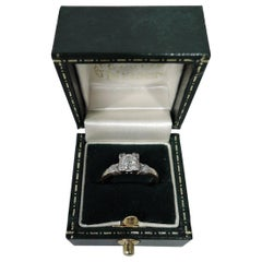 Sweet Antique American 14 Karat Gold Diamond Ring