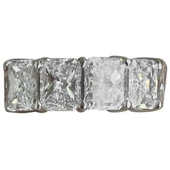 16 Carat Approximate, Radiant Diamond Eternity Ring/Wedding Band, Ben Dannie