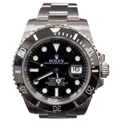 Rolex Submariner 116610 Black Ceramic Stainless Steel Box and Booklets