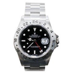 Rolex Explorer II 16570 Stainless Steel Black Dial Box and Papers, 2003