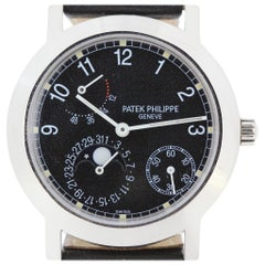 Patek Philippe 5055G Complicated Power Reserve Date, Moon Phase Watch
