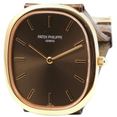 Patek Philippe 3738/100R Rose Gold Golden Ellipse Watch New Never Worn
