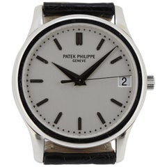 Patek Philippe 3998P Platinum Automatic Calatrava Watch, circa 2003