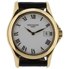 Patek Philippe 4906J Ladies Calatrava Watch, circa 2002