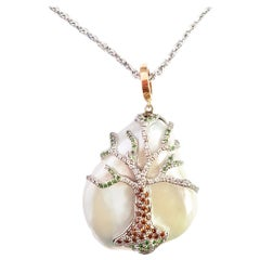 Tree of Life Pearl Necklace