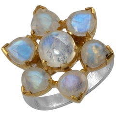 Emma Chapman Moonstone Gold Plate Ring