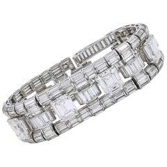Important Trabert & Hoeffer Mauboussin Diamond Bracelet