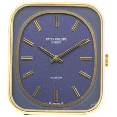 Patek Philippe 3582J Vintage Blue Dial Gondolo Watch, circa 1973