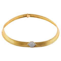 Cartier Gold Choker Necklace