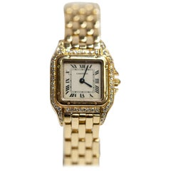 Cartier Panthere 18 Karat Yellow Gold