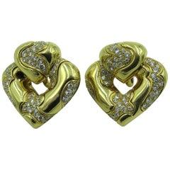 Marina B. Gold and Diamond Pardy Earrings