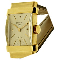 "Patek Philippe 1450J ""Top Hat"" Art Deco Watch, circa 1950"