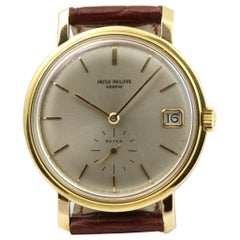 Patek Philippe 3445J Vintage Automatic Screw Back Calatrava Watch