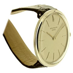 Patek Philippe 2591G White Gold Center Lug Calatrava Watch, circa 1965