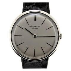 Patek Philippe 2591G White Gold Calatrava Watch, circa 1965