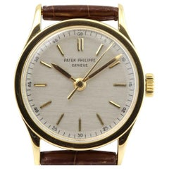 Patek Philippe 2457J Vintage Center Sweep Second Calatrava Watch, circa 1951
