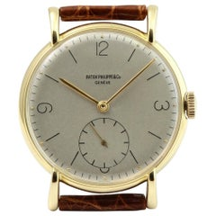 Patek Philippe 1543J Large Oversized Calatrava Watch, circa 1945