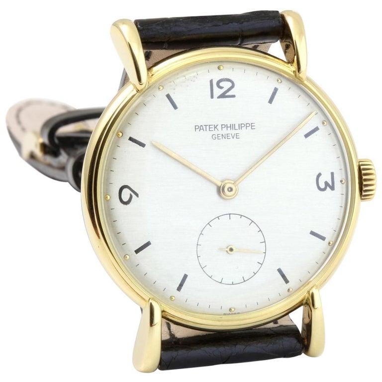 Patek Philippe 1543J Vintage Calatrava Watch, circa 1947 For Sale