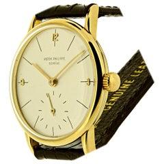 Patek Philippe 2494J Vintage Calatrava Watch, circa 1954