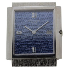 Patek Philippe 3491/3G 18 Karat White Gold Bracelet Watch, circa 1969