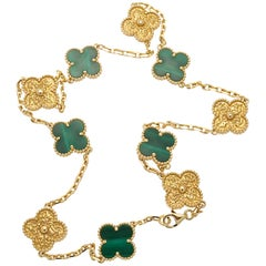 Van Cleef & Arpels Limited Edition Alhambra Necklace