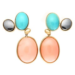 Paloma Picasso Tiffany & Co. Colorful Drop Earrings