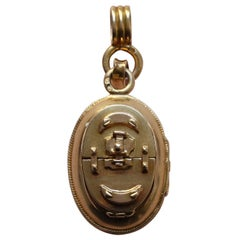 French Gold Locket
