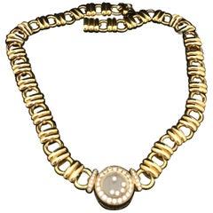 Chopard Happy Diamonds Diamond Yellow Gold Necklace