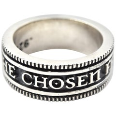 "King Baby Sterling Silver ""For the Chosen Few"" Ring"