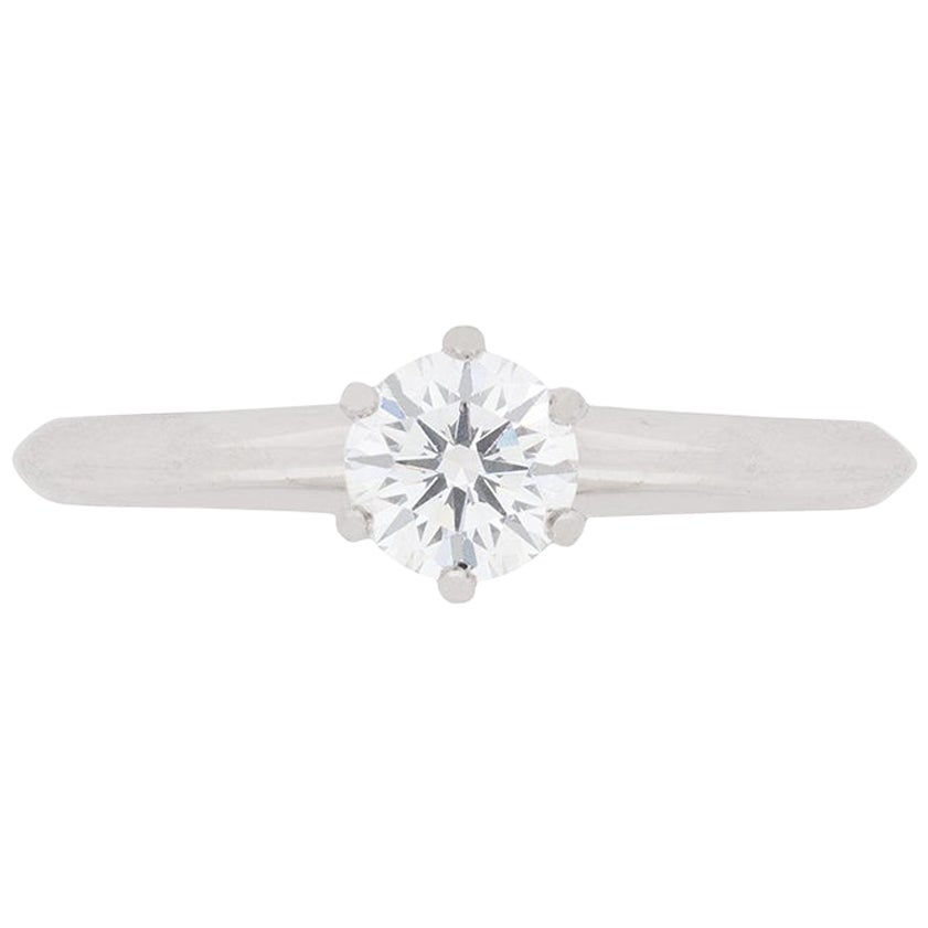 Tiffany & Co. Classic Diamond Solitaire Engagement Ring