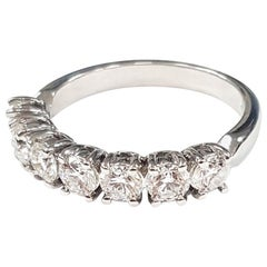 7 Diamond 18 Karat Gold Ring