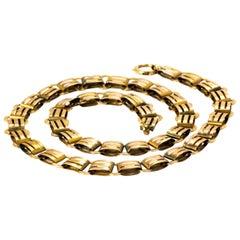 Victorian Yellow Gold Collar