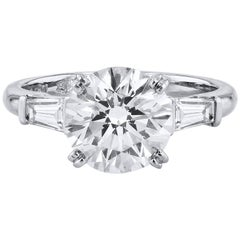3.06 Carat Diamond Engagement Ring