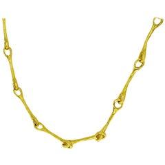 Chaumet 18 Karat Yellow Gold Chain Necklace