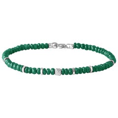 Nodo Precious Emerald Bracelet Medium