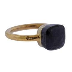 Pomellato Nudo Garnet Gold Ring