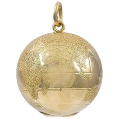 Tiffany & Co. Gold Globe Locket