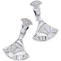 Bulgari Divas' Dream Diamond and White Gold Earrings