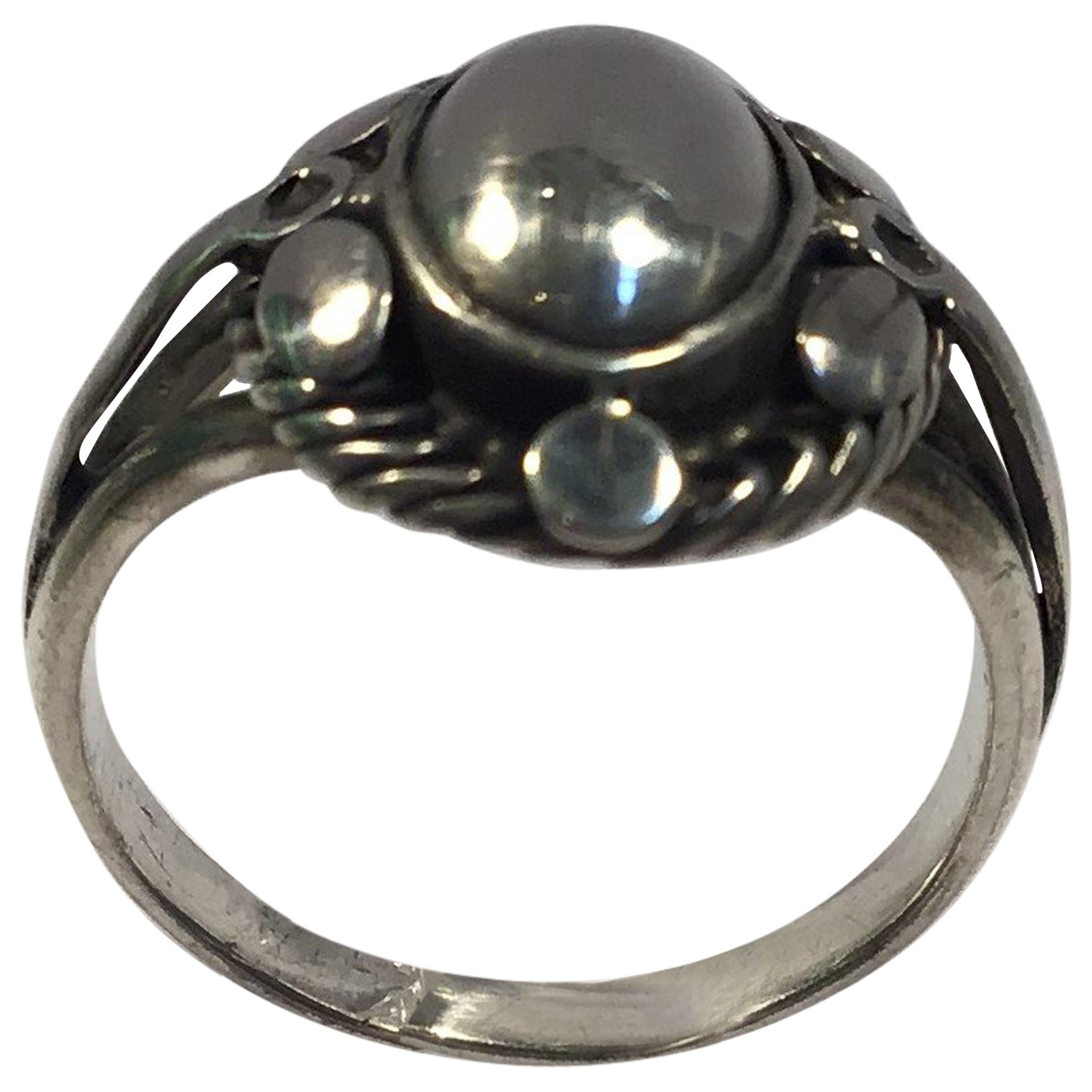 Georg Jensen Sterling Silver Ring No 1