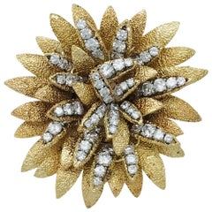 Yellow Gold and Diamonds Van Cleef and Arpels Brooch
